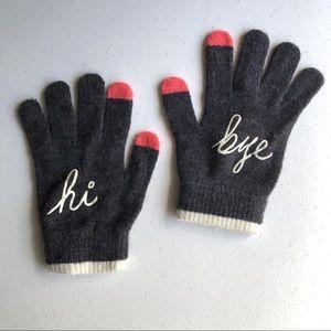 Old Navy Hi Bye Winter Gloves One Size